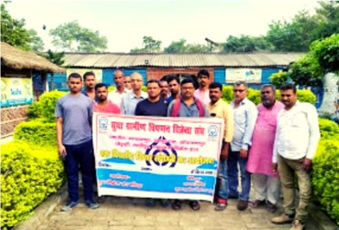 खोदावंदपुर मे सुधा डेयरी से जुड़ी ग्रामीण विक्रेता संघ ने की बैठक