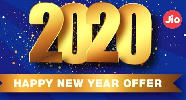 Jio Happy New year 2020 offer