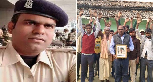 शहीद पिंटू सिंह के नाम से वाचनालय नही बनने से ग्रामीणों में आक्रोश