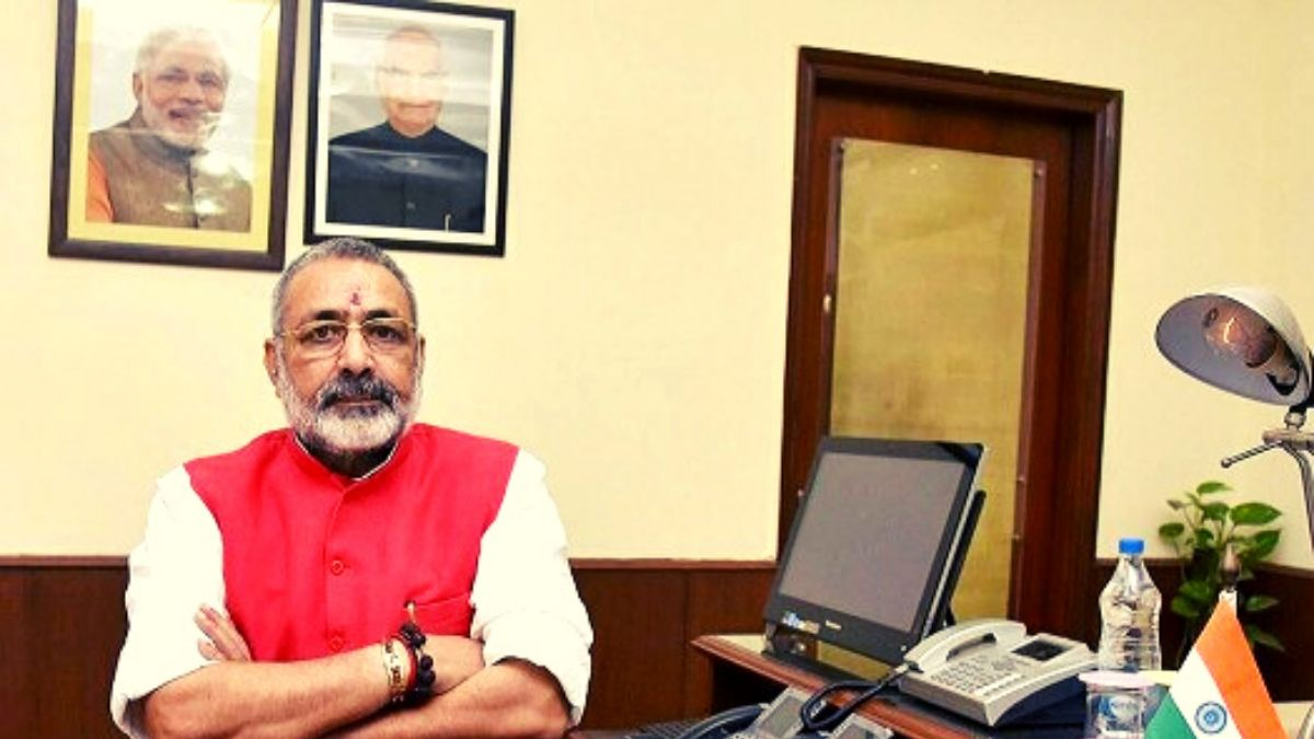 Giriraj Singh said thanks to the government, all MPs will take 30% less salary for one year,