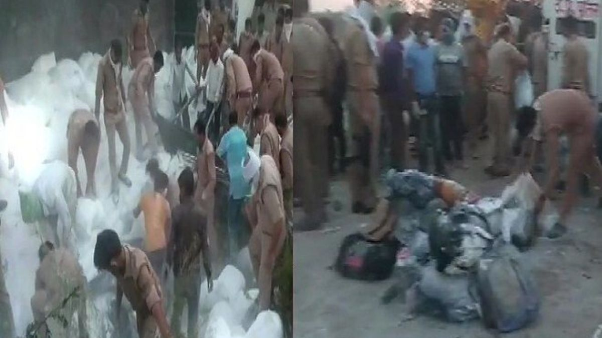 Accident of Migrants Labour in Up