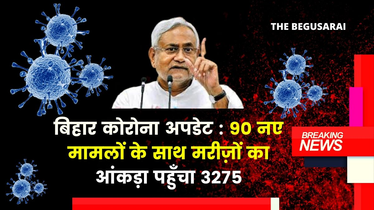 Bihar Corona Update Today 3200+