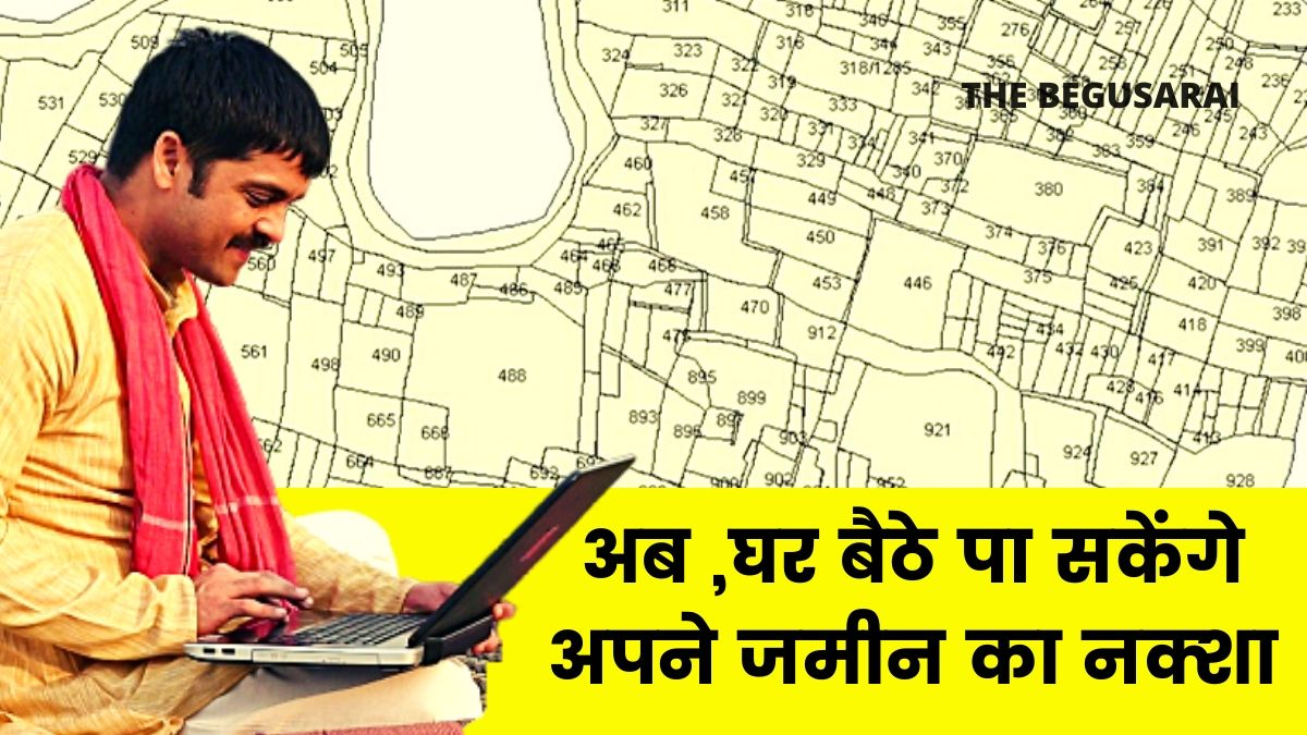 Online Land Maps Bihar