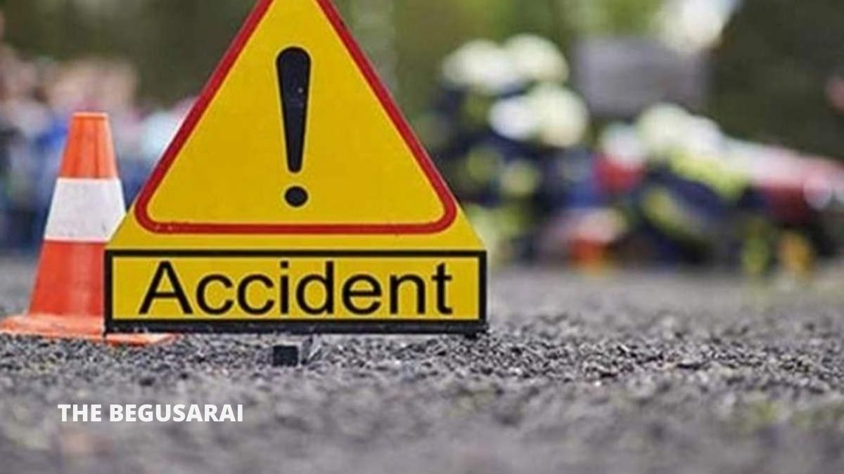 Accident in Begusarai