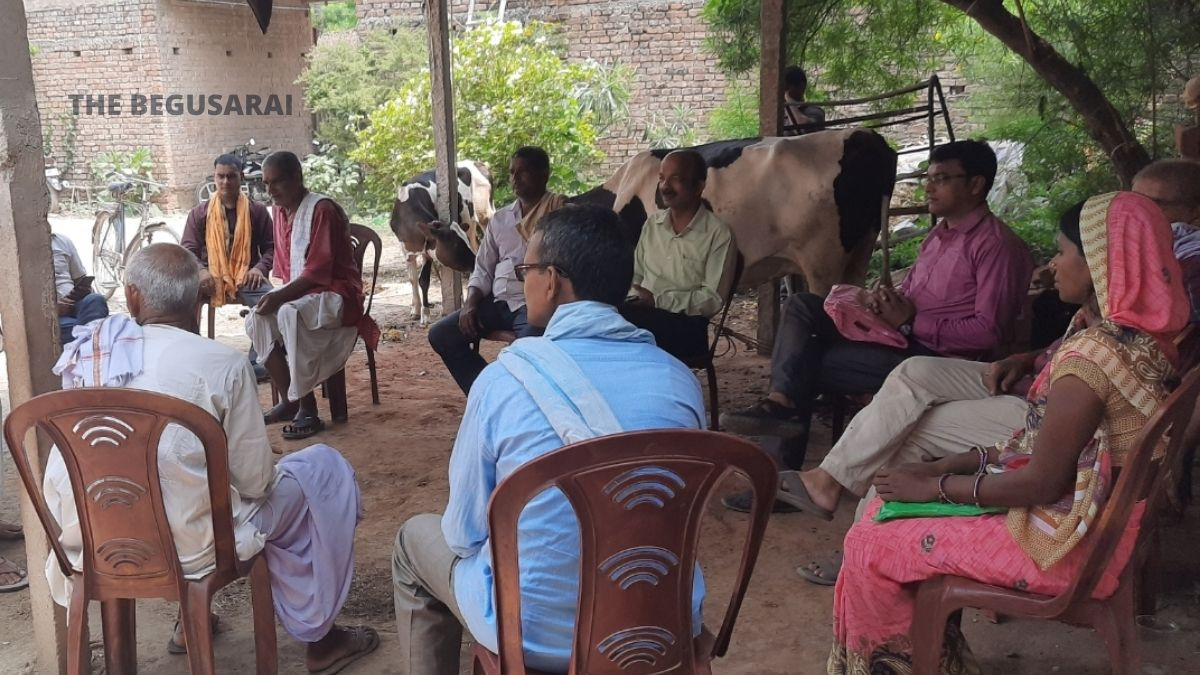 Political movement intensifies in Begusarai, BJP officials of Navakothi Mandal announced