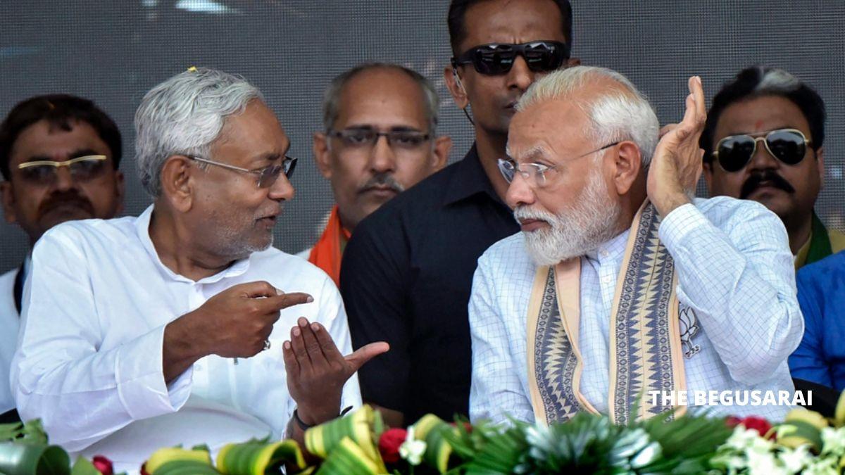 PM Modi Nitish Kumar
