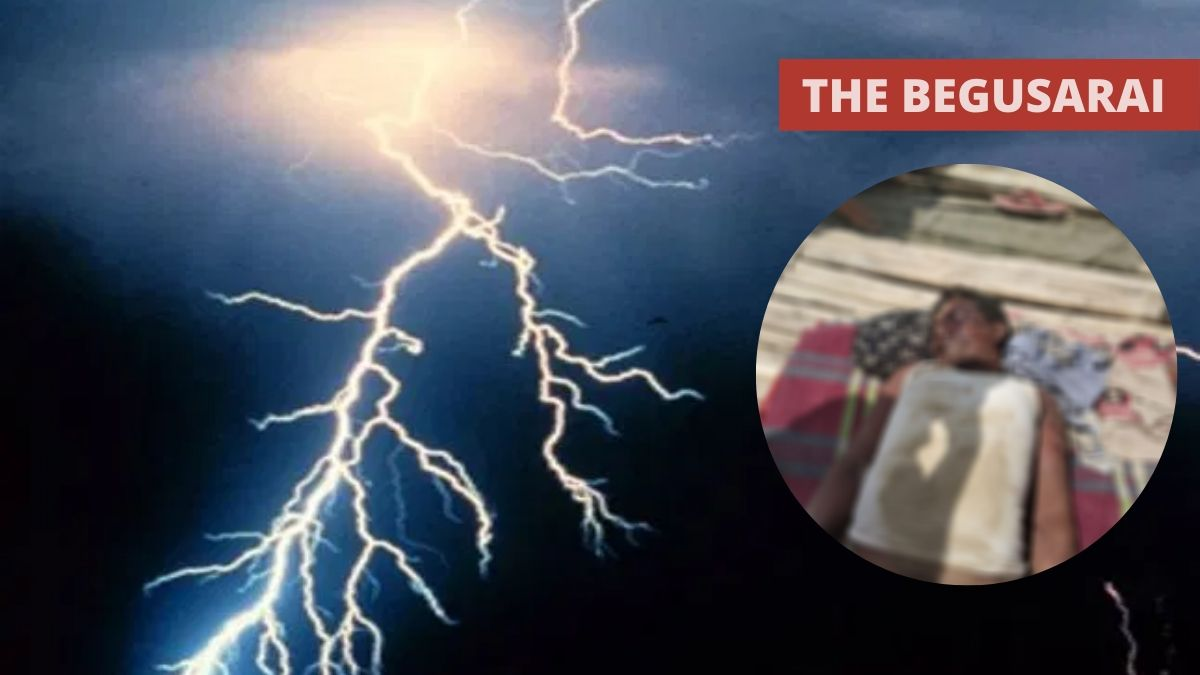 Middle age farmer killed due to lightning in Begusarai