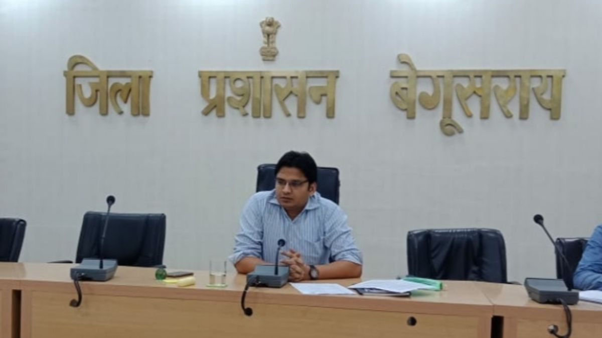 Dm Arvind Kumar Verma Begusarai