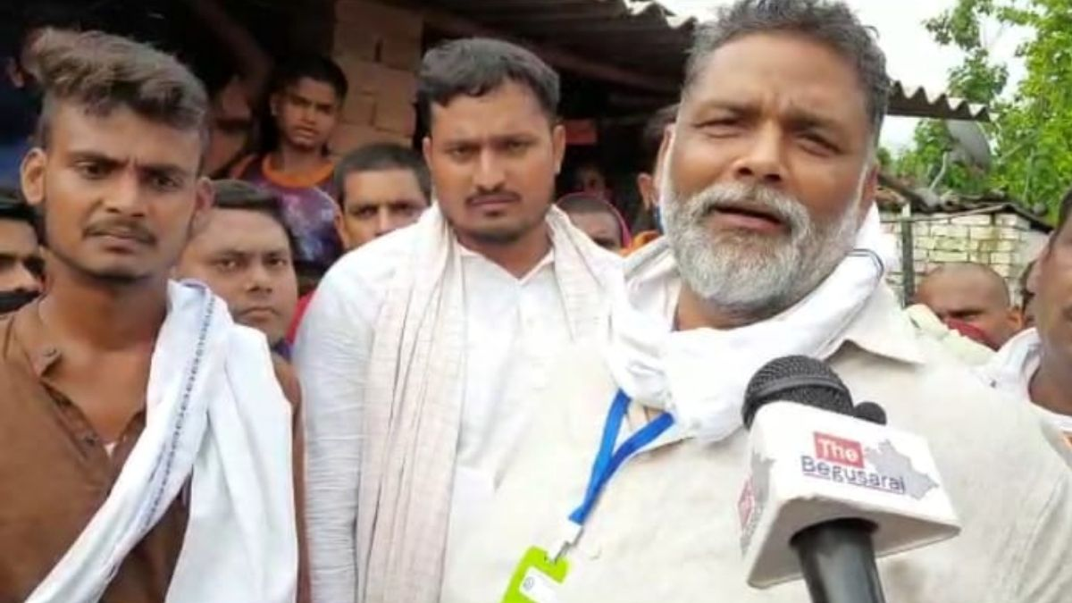 PAPPU YADAV IN BEGUSARAI