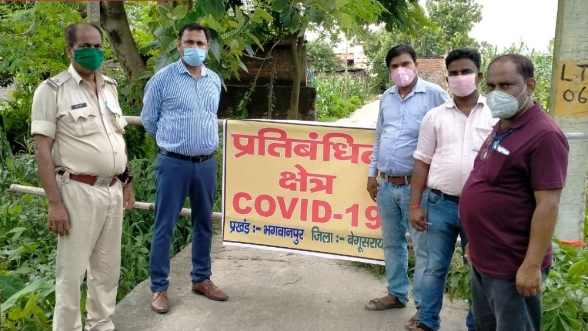 Containment Zone in Begusarai