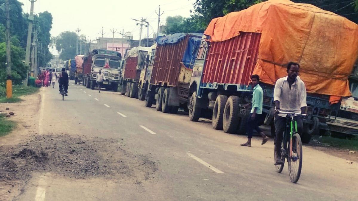 Teghra Truck RICE WHEAT