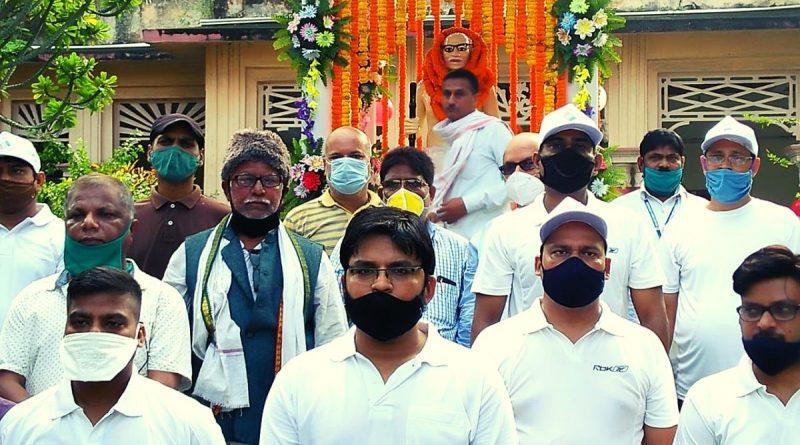 Gandhi Jayanti Celebrated in Begusarai