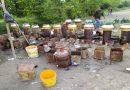 काबर में भारी मात्रा में अवैध शराब की भठ्ठी का पुलिस ने किया उदभेदन,तस्कर भी गिरफ्तार