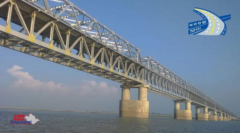 Ganga River Bridge Samho Begusarai