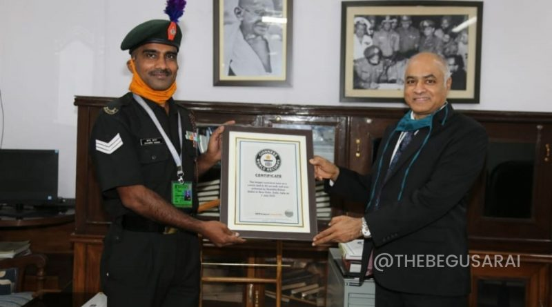 Sambhu Guinness World Records: