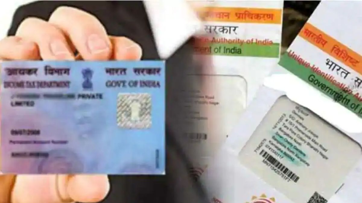 adhaar and pancard together