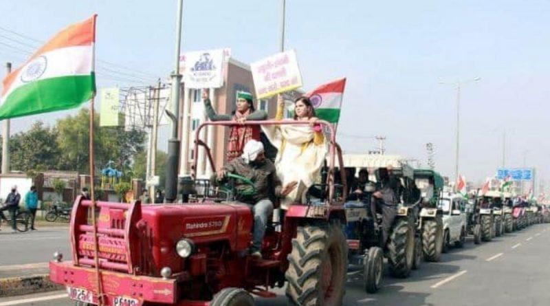 bihar tractor parade