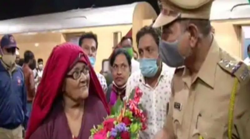 hasina begum return india