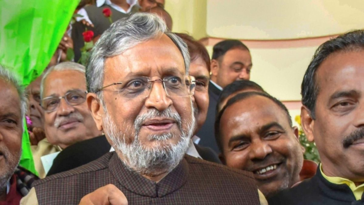 susheel modi on chief minister