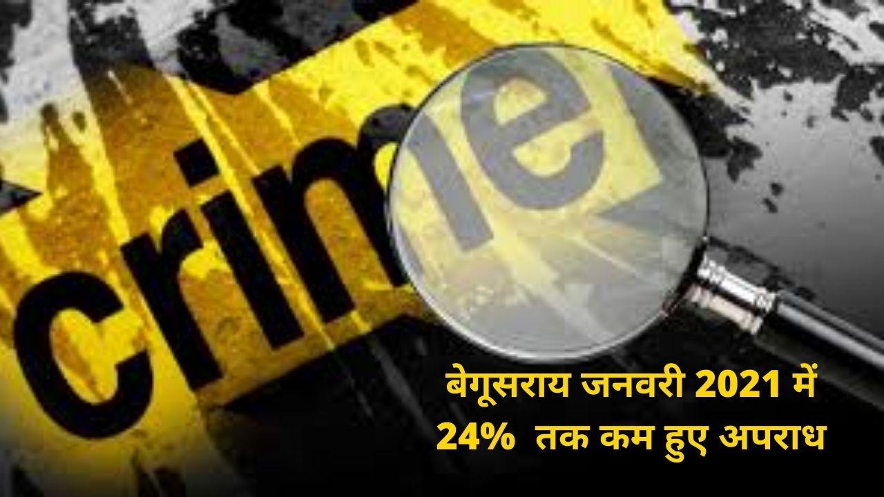 Crime Begusarai Ration 2021 Jan