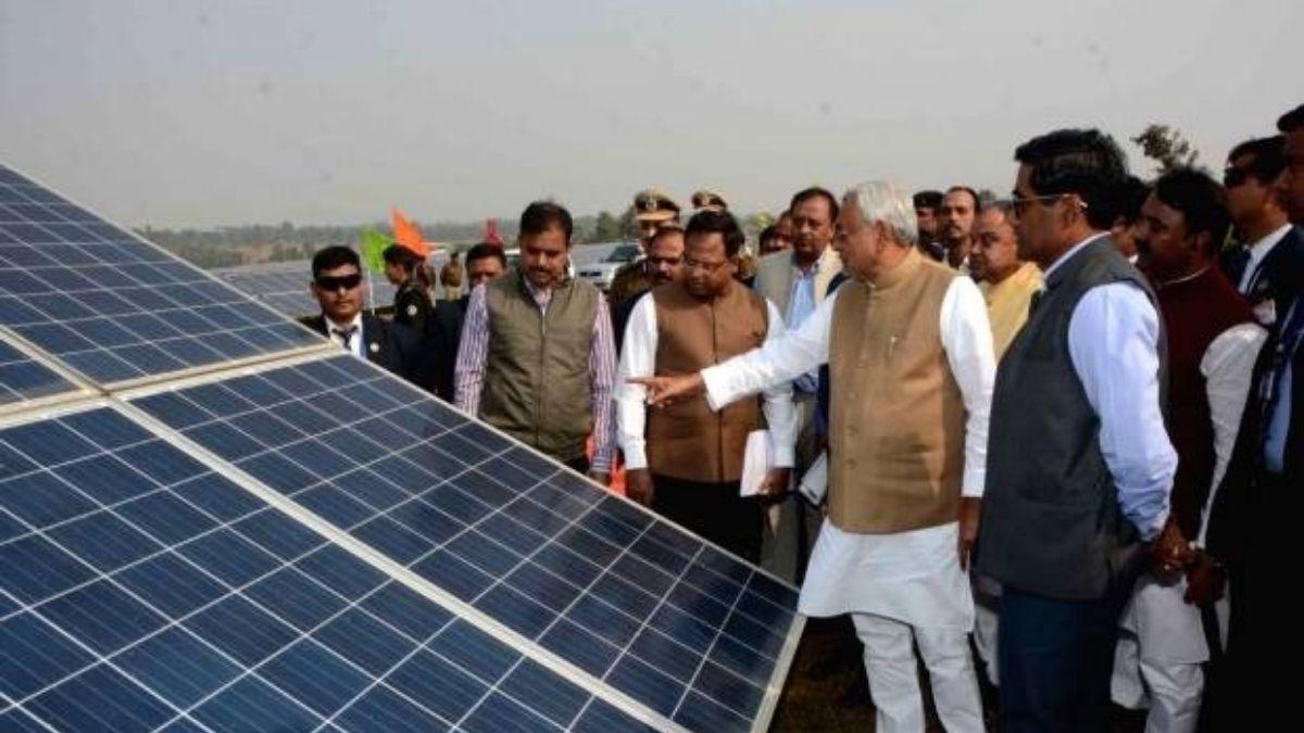bihar solar plate project