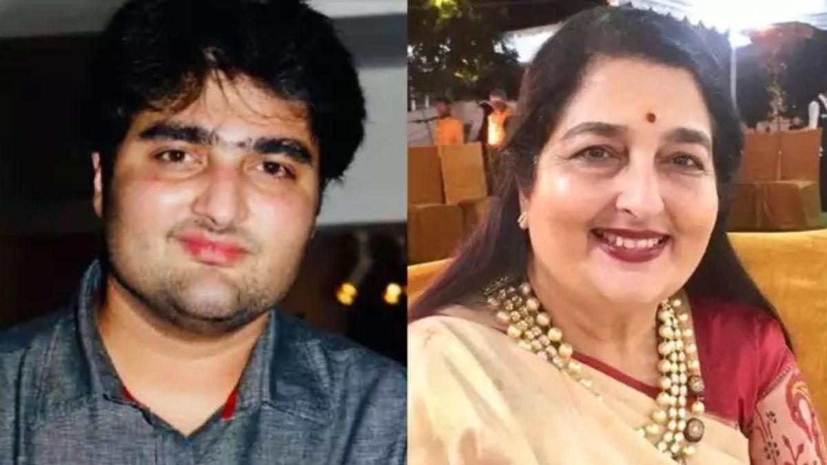 Anuradha with son