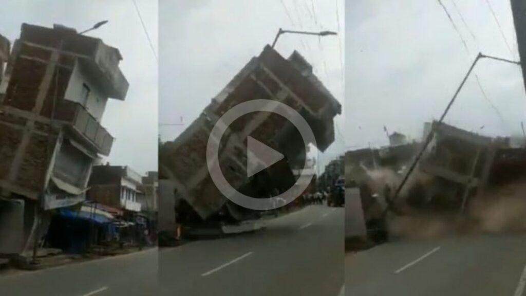 Building Collapse In Bihar