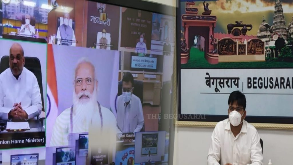 DM Begusarai PM Modi