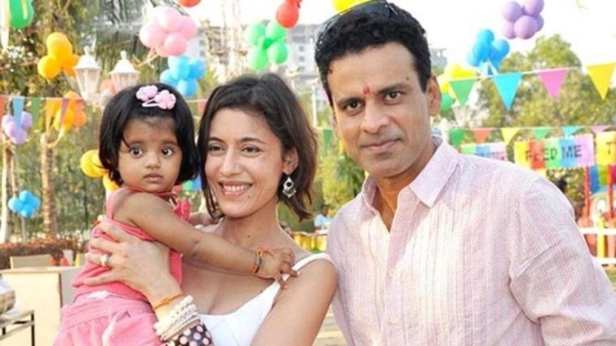 Manoj Vajpayi Wife with Neha