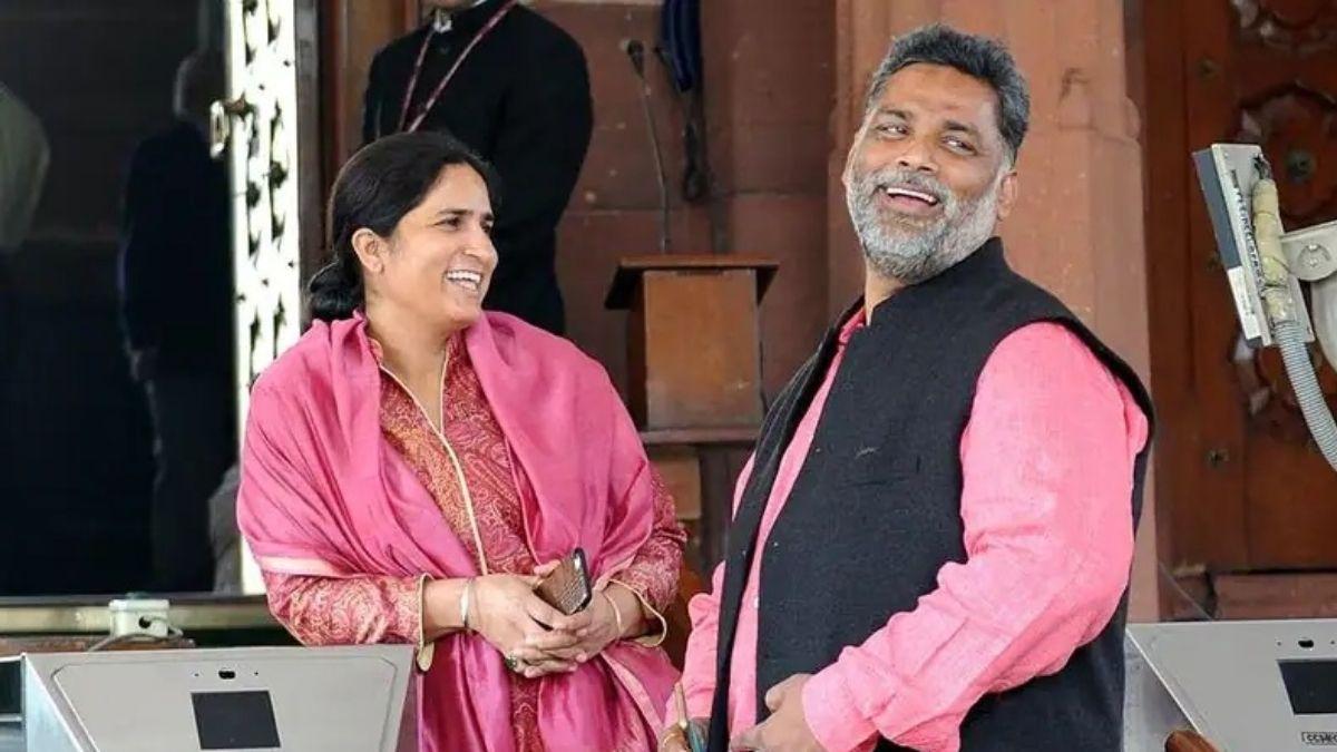 Pappu Yadav ranjitaa love story
