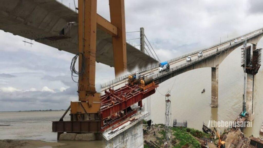 4 Lane Bridge On Kosi River