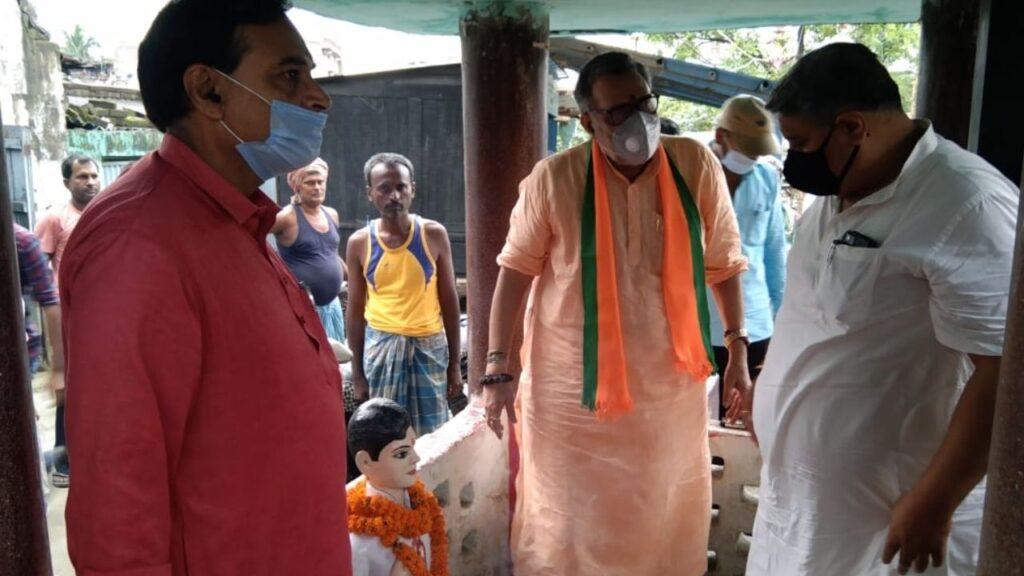 Giriraj Singh Manjhaul Visit