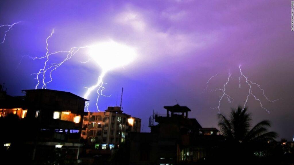 Heavy Thunderstorm Alert Bihar