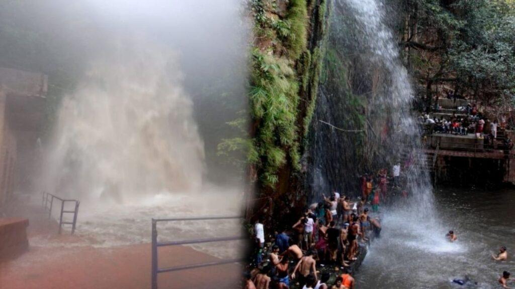 Kakolat Falls flood