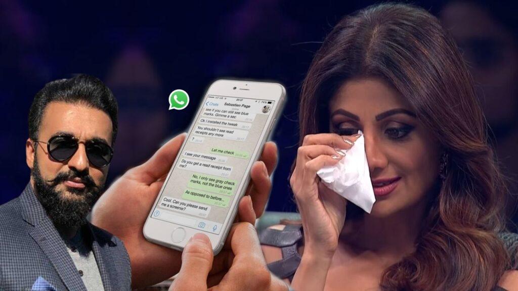 Raj Kundra Whatapp Chat