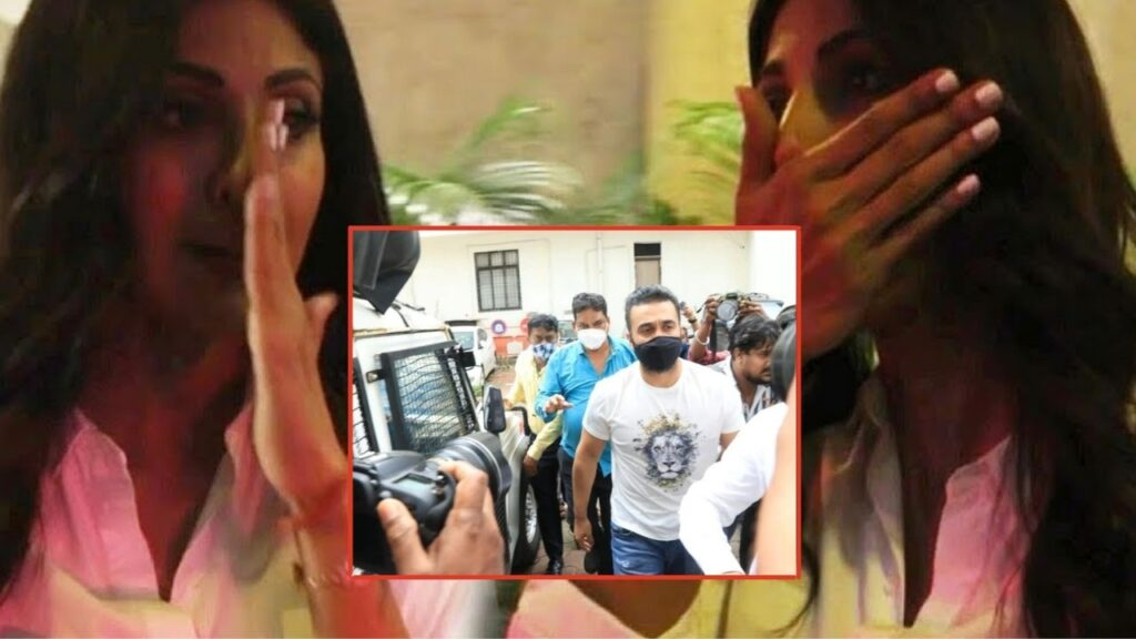Shilpa Crying