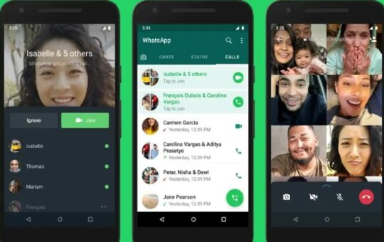 Whatsapp Group Call Join Features