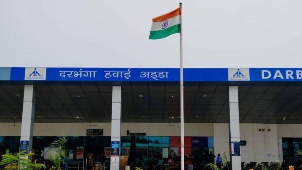 Dharbhanga Airport to Chennai