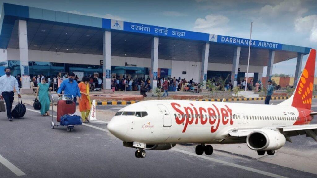 Dharbhanga to Mumbai Flight
