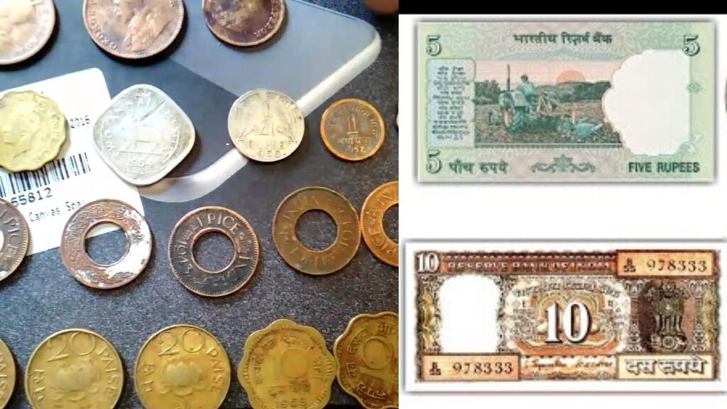Old Currency and Coin