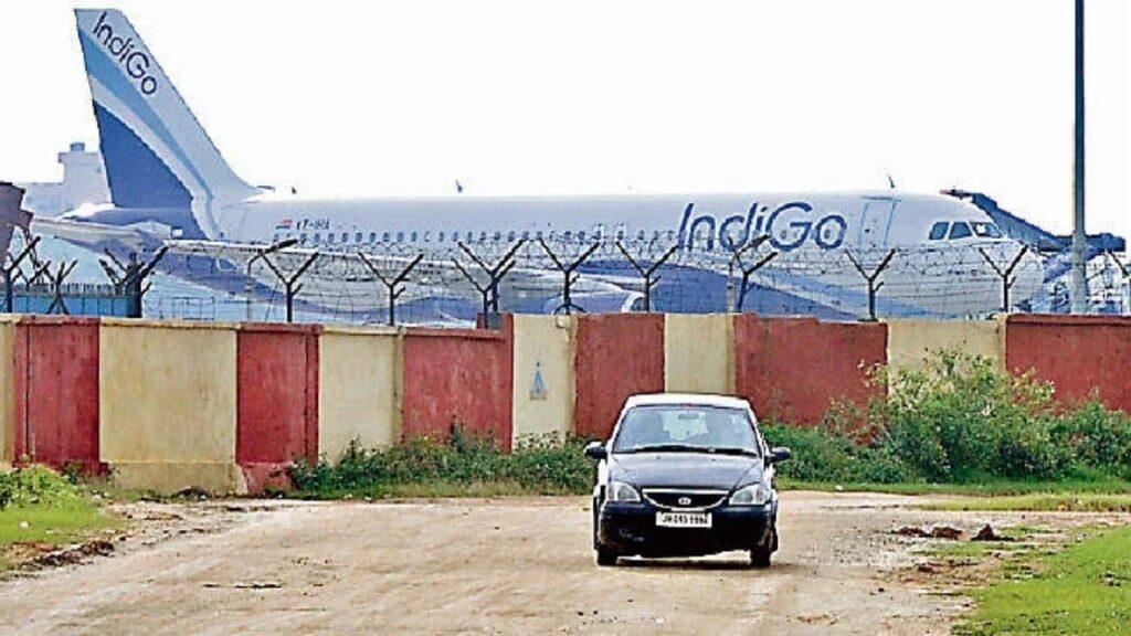 Patna airport indigo