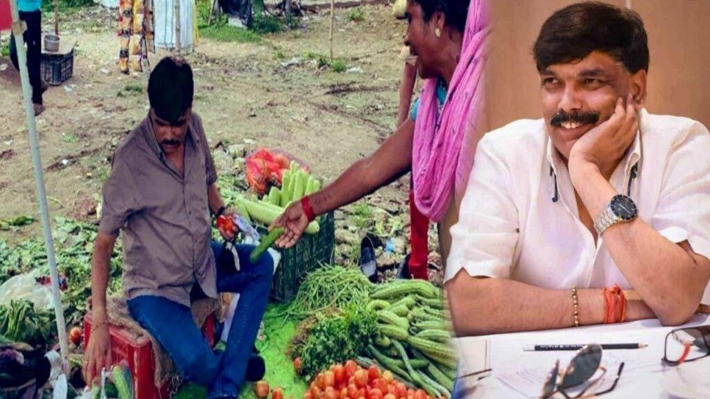 Senior IAS Selling Vegetable