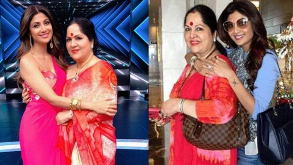 Shilpa Setty Mother