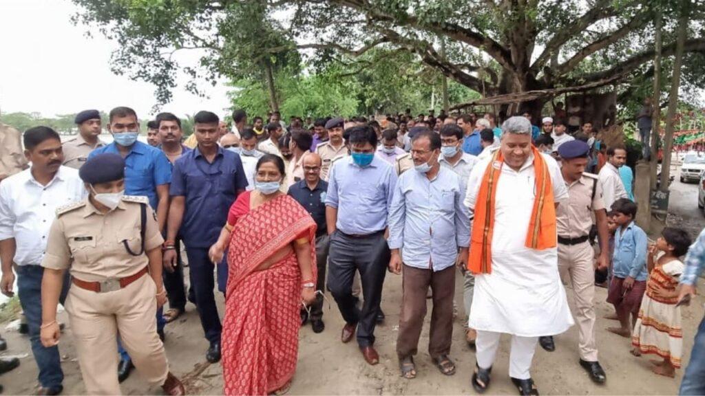 Deputy CM And MLA Kundan Singh DM Begusarai
