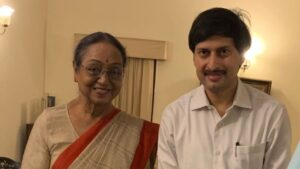 Lalan Kumar INC With Mira Kumar