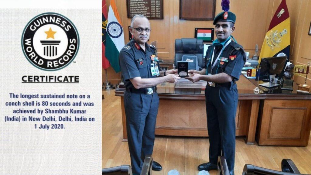 Shambhu Kumar Guinness World Records