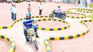 Bihar new driving test tracks
