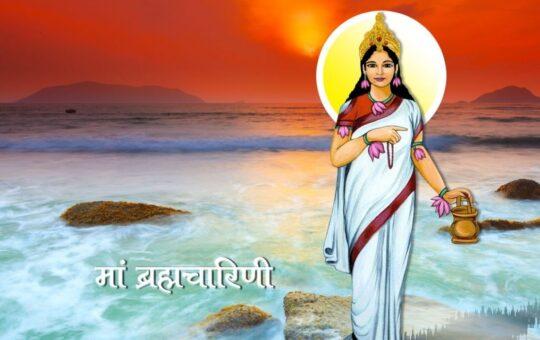 Ma brahmacharini 2nd mata of navratra