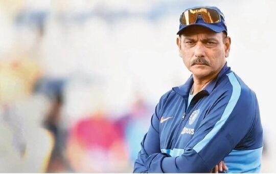 Ravi shastri left T20 coach